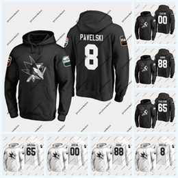 2019 joe thornton hoodie Martin Jones San Jose Sharks 2019 Felpa con cappuccio All-Star Game Evander Kane Joe Pavelski Brent Burns Logan Couture Joe Thornton Erik Karlsson Jersey joe thornton hoodie economici