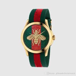 материнская плата la Скидка Мода простой бренд пчелка Тигр Змея шаблон кварцевые кожаные часы спорт классический популярный стиль часы Relogio Masculino 007