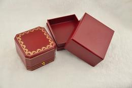 anel de fita vermelha atacado Desconto Chegam novas avançadas Top Mais alta qualidade original pulseira / anel / caixa de colar conjunto saco