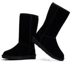 Argentina 2019 New Classic Women Men U58 Barrel Snow Boots Thicker Warm Winter Boot suela plana antideslizante a prueba de tallas grandes Tall Snow Boots cheap tall flat boots women Suministro
