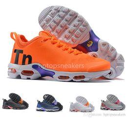 sale retailer 4d665 d3cb0 2019 polka dot shoes Mercurial Plus Tn Ultra 2 Negro Blanco Naranja Gris  para hombre Zapatos