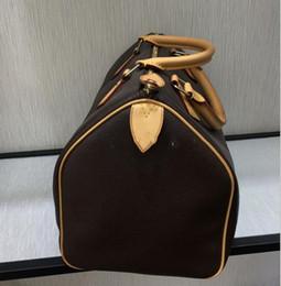 Rapide 25 en Ligne-2019 Top qualité femmes en cuir rapide 30 sac à main sac à bandoulière rapide 25 classique Style Brown sacs à main de designer dames 41108 clutches soirée