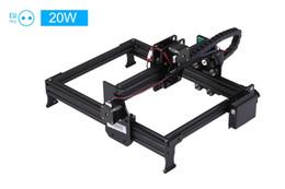 2019 jigging-maschinen 20W / 7000mW Lasergravierer Maschine upgrated Version Laser-Gravur-Drucker DIY USB-CNC-Fräser-Cutting Carver Off-line Ort