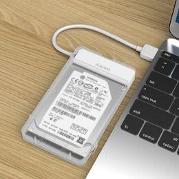 MAIWO K104 Taşınabilir USB 3.0 SATA Sabit Disk Muhafaza Kutusu için 2.5 inç HDD SSD Siyah Beyaz nereden
