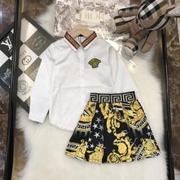 2019Bambini per bambini Bambini in puro cotone Facile per il tempo libero Vestiti a due pezzi Set0026 # cheap easy child da bambino facile fornitori