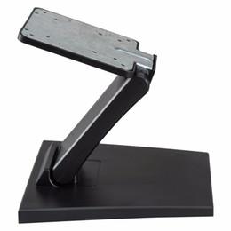 n box tv Sconti Supporto regolabile per TV LCD Supporto per scrivania pieghevole in metallo con foro VESA 75x75mm100x100mm
