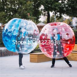 Bola de parachoques inflable cuerpo zorb online-Envío gratis inflable de PVC Bumper Bubble Ball Body Zorb Ball Soccer 1.5M Air Bumper Ball NUEVO