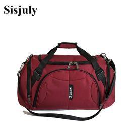 98d7619e714a Sisjuly New Men Women Travel Bags Large Capacity Multifunction Bags Women  Nylon Shoulder Crossbody Male Casual Duffle Tote