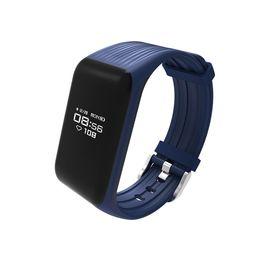 K1 Pulsera Inteligente Pulsera Inteligente Podómetro Monitor de Ritmo Cardíaco Banda Inteligente mejor Pulsera de Fitness Actividad Rastreador desde fabricantes
