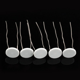 keramische heizspulen Rabatt Heißer Verkauf 0,5 Ohm 0,8 mm Dicke Keramik Heizwendel für Puffco Peak Zerstäuber Reparatur Ersatz Wachs Verdampfer Coilless Technologie
