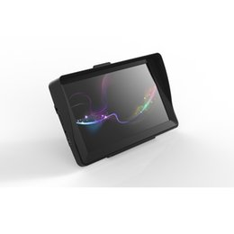 2019 caja dvb t2 Nuevo 7 pulgadas Navegador GPS para vehículos Navegador de vehículos 256MB 8GB Con Bluetooth AVIN FM Sun Shade Visor Multilenguaje CE Calidad Besat