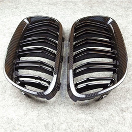 7 Beams //////M-Colored Stripe Grille Insert Trims Front Grill Stripes Covers For 2010-2017 F25 X3 F26 X4 Center Kidney Grill