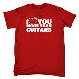 guitare classique Promotion Music Band T-Shirt Funny Novelty Tee-shirt Pour Hommes - Plus de Guitares T-shirt Qualité Classique Haute