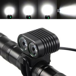 Fahrrad scheinwerfer führte 2x online-Fahrradlicht vorne 8000 Lumen 2x XM-L2 LED Fahrradscheinwerfer Scheinwerfer Fahrradscheinwerfer ZZA577