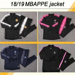 veste chemise homme xl Promotion 18 19 Club NEYMAR JR MBAPPE Kits de veste Maillots de foot CAVANI VERRATTI MATUIDI Maillot de foot Maillots Maillots DI MARIA T.SILVA Veste Top