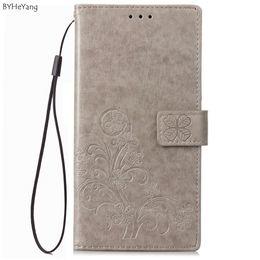 Недорогие телефоны дешево онлайн-Дешевые Wallet случаи BYHeYang для HTC Desire 12+ Plus Case Luxury Флип PU кожаный чехол для HTC Desire 12 Plus Защитный телефон