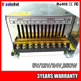 Toptan 350 W 5 v / 12 v / 24 v led şerit ışık AC90-265V gerilim için Güç kaynağı, izleme yardımcıları ekipmanları güç kaynağı 350 w 24 v 12 v nereden güç şeritleri toptan ticareti tedarikçiler