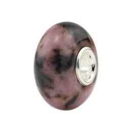 pulseiras de talão de troll Desconto Jóias DIY 925 Sterling Silver plane contas de pedra natural Charme Bead Fit Europeu Troll Pulseira Fazer Jóias Frete grátis