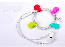 Çok İşlevli Yönetimi Silikon Kulaklık Kulaklık Kordon Sarıcı USB Kablo Tutucu Askı Manyetik Organizatör Klipler Toplamak Imi anahtarlık cheap multifunction cables nereden çok fonksiyonlu kablolar tedarikçiler