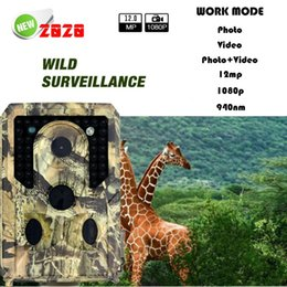 12MP 1080P Trail Camera 3 Sensor Heads 34 LEDs Infrared Hunting Camera Night Vision Wildlife Trail Cameras nereden ev gizli kamera videoları tedarikçiler
