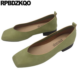 Appartamenti neri cinesi online-slip on green retro work toe china black ladies drop shipping women flats anziano 2019 tradizionale cinese designer di scarpe