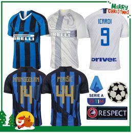 8e38aff1d 2019 Inter jersey CANDREVA EDER ICARDI JOVETIC Milan home away Kondogbia Jovetic  2019 Icardi sports 19 20 inter 20 anniversary shirts