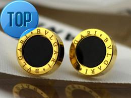 orecchini di celebrità Sconti Alta qualità Celebrity design Donna Lettera diamante Orecchini moda metallo opale gioielli orecchino con scatola