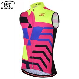Roupas de equipe baratas on-line-KIDITOKT Ciclismo Coletes bicicleta Roupa 2018 Pro da equipe roupas baratos da China Roupa Ciclismo montain mulheres Bike Racing homens Clothings