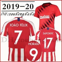 Wholesale Camiseta Camiseta de fútbol de Joao Félix de Madrid en casa