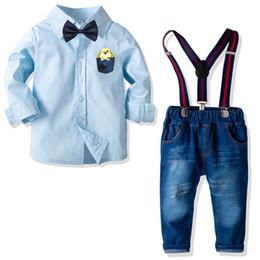 71cb308d7ec65 jeans de marque bébé Promotion Nouveau bébé garçon vêtements Toddler Boy vêtements  enfants marque designer vêtements