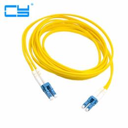 Dual LC à LC Fibre optique Jumper Cable Jumper Cable Optique Mode Unique Duplex pour Réseau 3m 5m 10m 20m 10ft 16ft 33ft 66ft ? partir de fabricateur