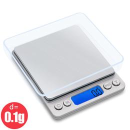 Bilancia da cucina digitale mini tasca in acciaio inossidabile gioielli di precisione bilancia elettronica peso grammi d'oro (3000gx0.1g) da
