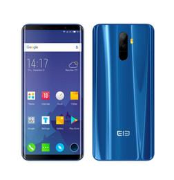 2019 telefones qualcomm Elephone u pro telefone celular 5.99 polegadas android 8.0 Qualcomm Snapdragon 660 6 GB de RAM 128 GB ROM 13MP Dual RearCam 4G LTE celular desconto telefones qualcomm