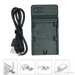 Canada Chargeur de batterie pour appareil photo numérique 10pcs / lot USB Pour Canon BP-511 LP-E5 LP-E6 LP-E8 LP-E10 LP-E12 LP-E17 Offre