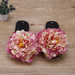 Корейские туфли на высоком каблуке онлайн-2019 Новый корейский летний стиль нескользящие тапочки шлепанцы онлайн дешевые высокие каблуки Туфли на платформе
