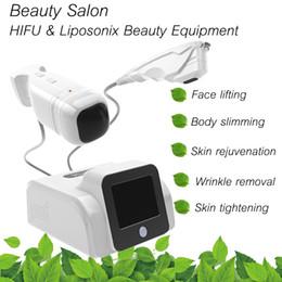 Precio de fábrica máquina de reducción de grasa HIFU Ultrashape Liposonix Skin Tightening celulitis para reducir el sistema de quema de grasa para uso en el hogar o salón desde fabricantes