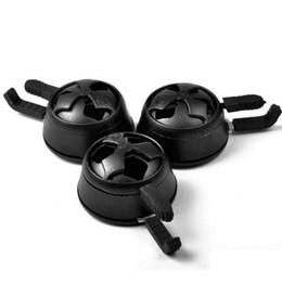 Tubo di calore dell'acqua online-Calda manico a carbone per il supporto del peso Tenere la ciotola per narghilè per narghilè Sheesha Water Pipe Set di narghilè in vetro siliconico