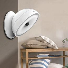 Einbauschränke online-Kreative Schlafzimmer Schrank Lampe Runde Infrarot Induktion Intelligenz Led-leuchten 360 Grad Nachtlichter Fit Wanddekoration 28 8 tb E1
