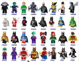 2019 brinquedos do homem-aranha azul Blocos de construção Super Hero Figuras Brinquedos Coringa Brinquedos mini Figuras de Ação Tijolos minifig Building Block