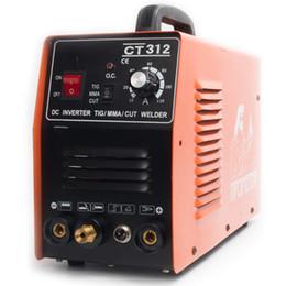 Maquina ma online-TIG / MMA / CUT Soldadora de plasma 110 / 220V Máquina de soldadura Digital Corte CT312