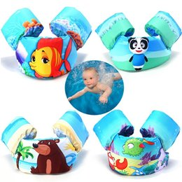 2019 плавающая одежда Children's Arm Ring Buoyancy Vest Foam floating Pool Safety Vest Jacket Baby Clothes for Swimming Life jacket скидка плавающая одежда