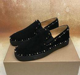 gentleman schuhe stil Rabatt Luxuriöser Herr Beleg auf Pik-Boots-Spitzen-Entwurfs-Turnschuh-Schuhen, rotes unteres Müßiggänger-Schuh-berühmtes Partei-Hochzeits-18 Art-Gehen