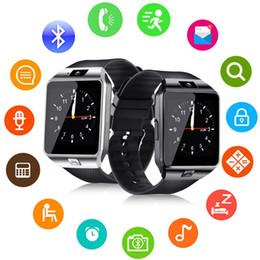 enregistrer des montres Promotion DZ09 Q18 GT08 Smart Watch Bracelet Android Smartwatch SIM Intelligent Téléphone Mobile Enregistrer la veille de sommeil Veille Avec Retail Package DHL