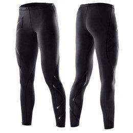 Pantalones deportivos nuevos Pantalones ajustados para hombre Pantalones de secado rápido, entrenamiento, pantalones de fitness al aire libre, compresión, pantalones, pantalones, desgaste desde fabricantes