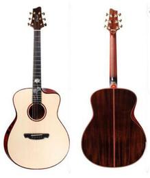 voando guitarra branca Desconto Marvell M-1 madeira maciça guitarra acústica Manual, guitarra acústica