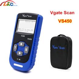 outil de balayage abs Promotion Vgate VS450 pour la réinitialisation du scanner de diagnostic du lecteur de code Airbag ABS VS450 pour le lecteur de code OBD2 OBDII outil de diagnostic