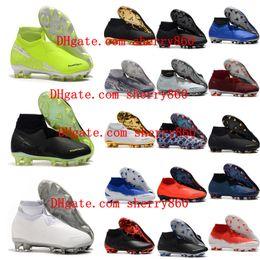 2019 sportelli sportivi 2018 scarpe da calcio da uomo Phantom VSN Elite DF FG scarpe da calcio all'aperto x EA Sports Phantom Vision scarpe da calcio scarpe calcio hot sconti sportelli sportivi