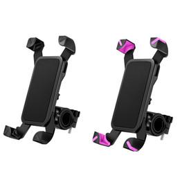 Gelenkschloss online-Fahrradhalterung, Fahrradhalterung mit 360 ° -Drehung, universell einstellbarer Gelenkverriegelungsknopf, Fahrradzubehör für Telefone von 4 bis 7 Zoll