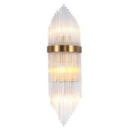 klare glas lampenschirme Rabatt Delin Gold Wandleuchte Beleuchtung Klarglas Lampenschirm Wandleuchten Gold LED Wandleuchte mit E14 LED-Lampen