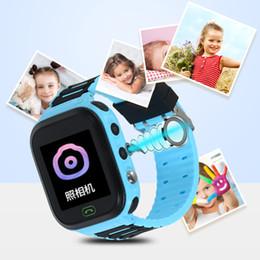 gps para crianças Desconto Atacado 2019 Q100 GPS Inteligente Relógios Bebê Kid Watch com WIFI 1.54 polegadas Tela Sensível Ao Toque SOS Chamada Dispositivo de Localização Rastreador Kid Seguro